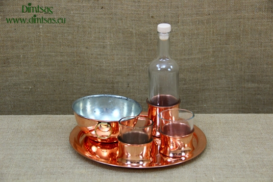 Copper Sets for Ouzo