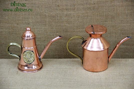 Copper Olive Oilcans