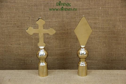 Bronze Flagpole Crosses & Spears