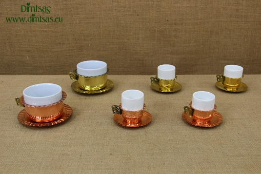 Copper Coffee Cups & Brass Coffee Cups
