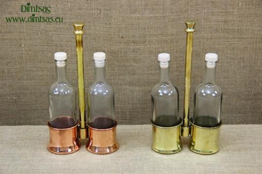 Copper Oil & Vinegar Cruet
