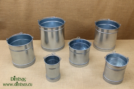 Galvanized Sheet Metal Round Buckets