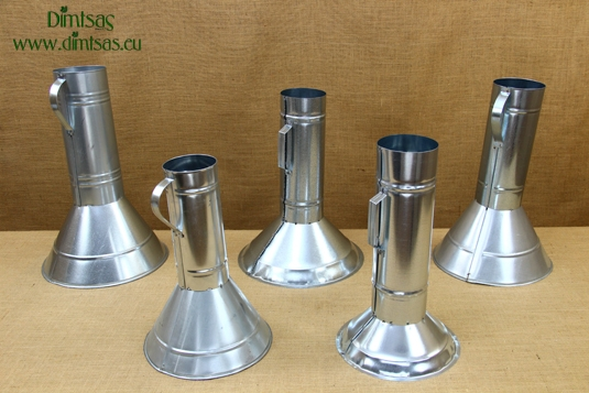 Charcoal Chimney Starters Galvanized