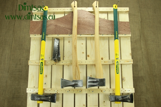 Log Splitting Wedges