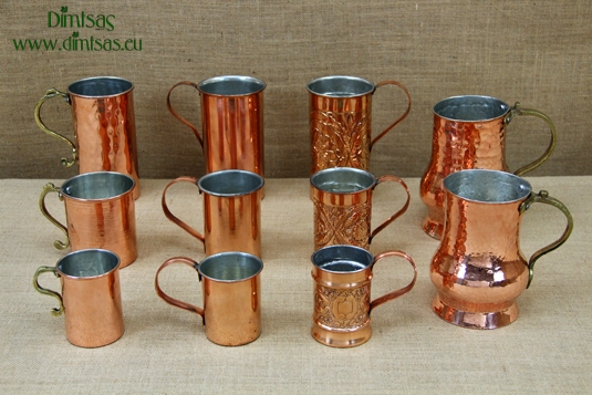 Traditional Copper Wine Jugs