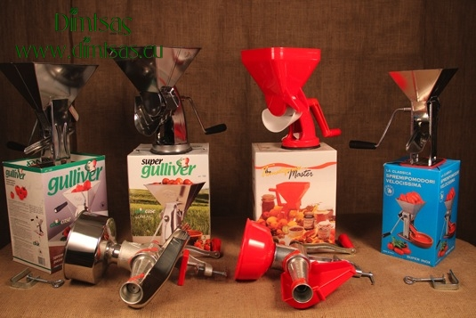 Manual Tomato Squeezers - Tomato Milling Machines