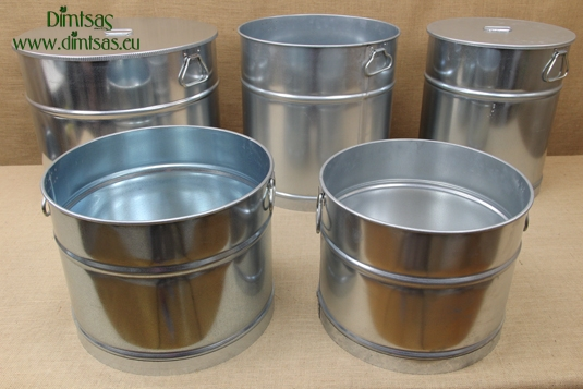 Galvanized Sheet Metal Cauldrons
