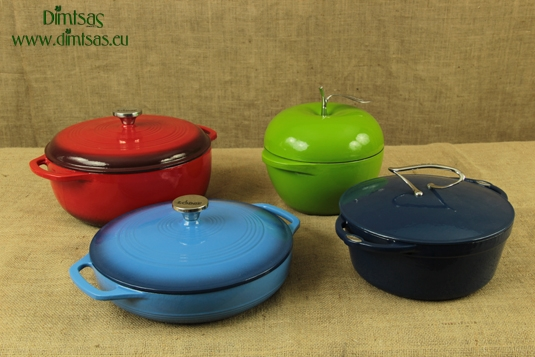 Lodge Enameled Cast Iron Dutch Ovens and Casseroles