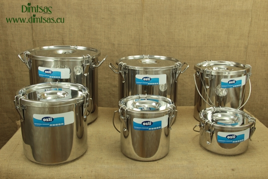 Stainless Steel Food Carrying Containers with Sandwich Bottom