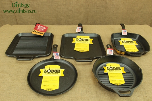 Cast Iron Skillets and Covers Lodge
