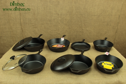 Deep Cast Iron Skillets