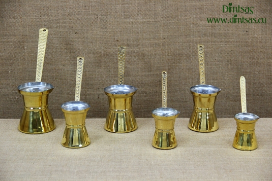 Brass Hammered Coffee Pots