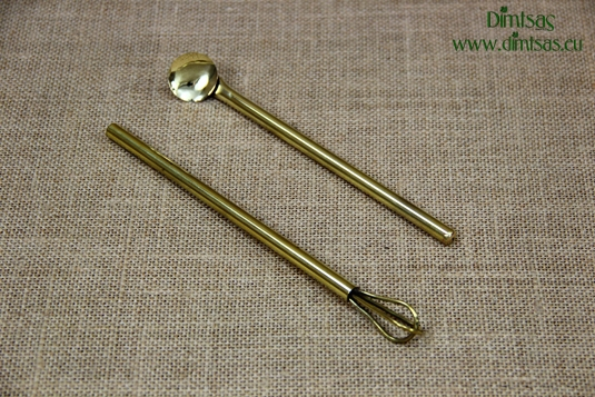 Brass Spoons & Stirrers