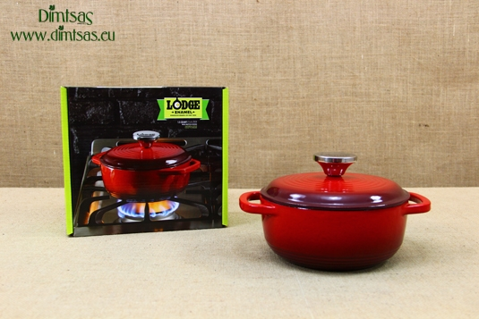 Enameled Cast Iron Dutch Ovens - Casseroles 1.4 lt