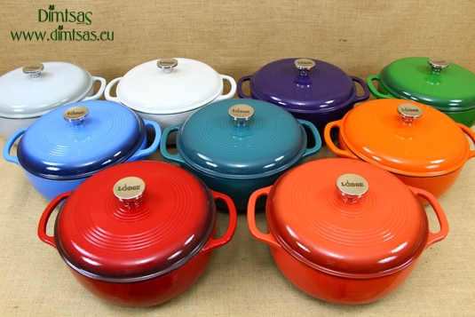 Enameled Cast Iron Dutch Ovens - Casseroles 5.7 lt