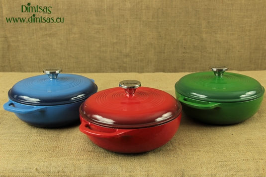 Enameled Cast Iron Dutch Ovens - Casseroles 2.8 lit
