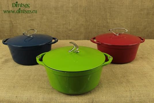 Enameled Cast Iron Dutch Ovens - Casseroles Special Edition 5.7 lit