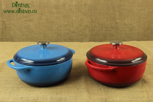 Enameled Cast Iron Dutch Ovens - Casseroles 4.3 lit