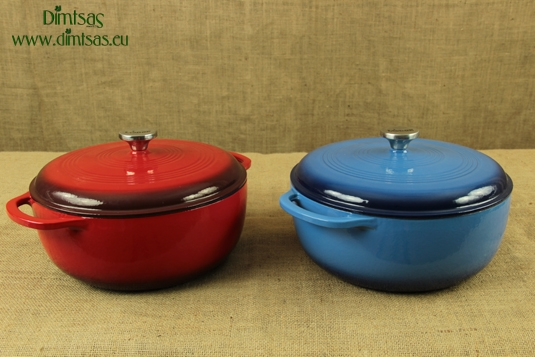 Enameled Cast Iron Dutch Ovens - Casseroles 7.4 lit