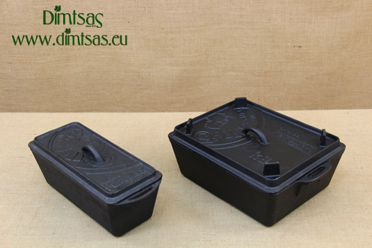 Loaf Pan with Lid Petromax