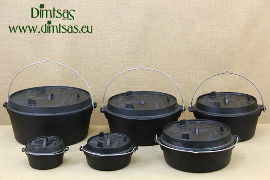 Cast Iron Dutch Ovens with a plane Buttom Petromax