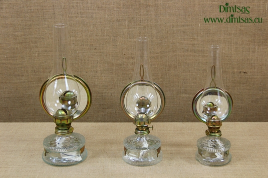 Oil Lamps with Mirror