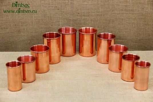 Copper Glasses Straight