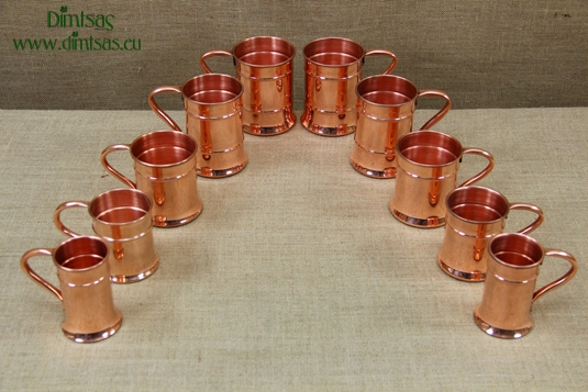 Copper Glasses King with Handle