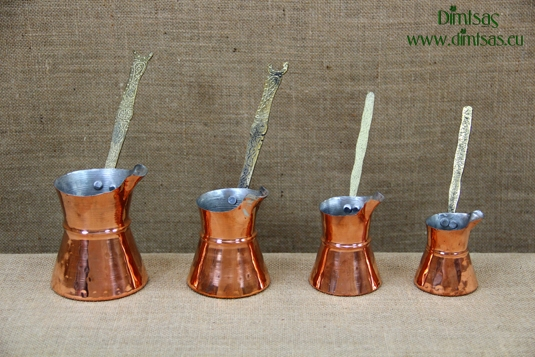 Copper Coffee Pots with Wide Spout