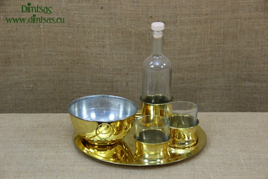 Brass Sets for Ouzo