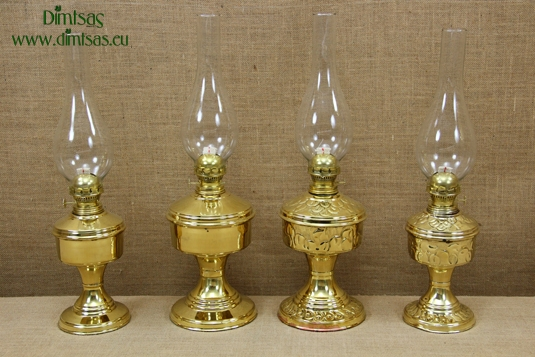 Brass Oil Lamps Tabletop