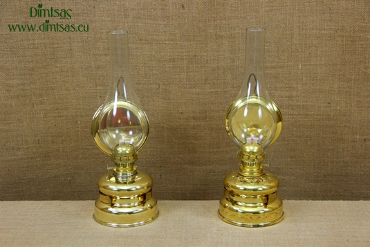 Brass Hanging Oil Lamps