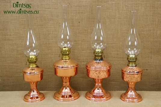 Copper Oil Lamps Tabletop