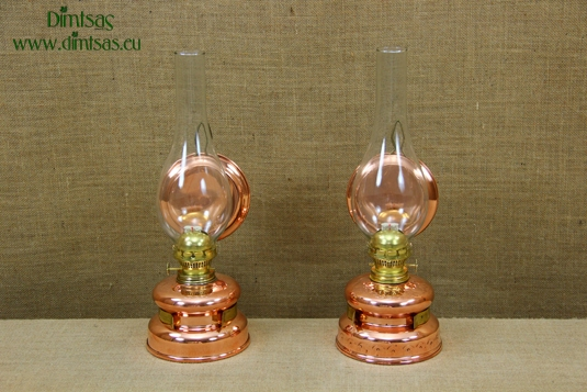 Copper Hanging Oil Lamps