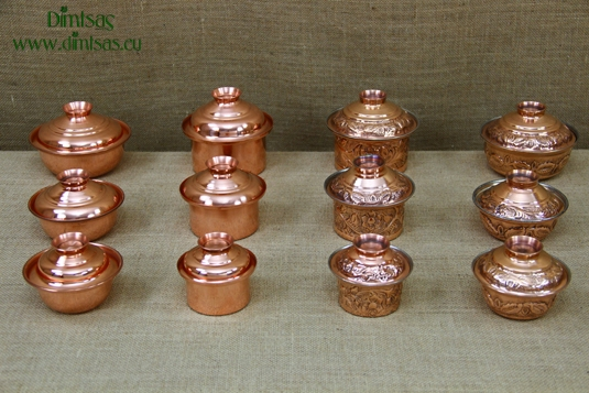 Copper Mini Pots - Copper Cocottes