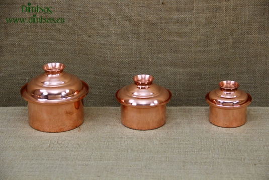 Copper Mini Pots