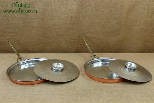 Copper Frying Pans with Lid