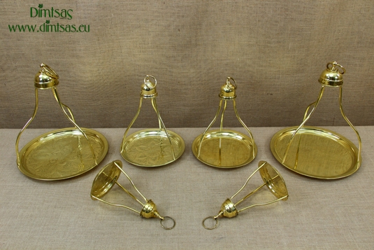 Brass Traditional Greek / Turkish Coffee Trays
