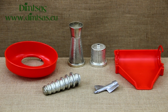 Tomato Squeezers & Cheese Graters Attachments for Meat Mincers