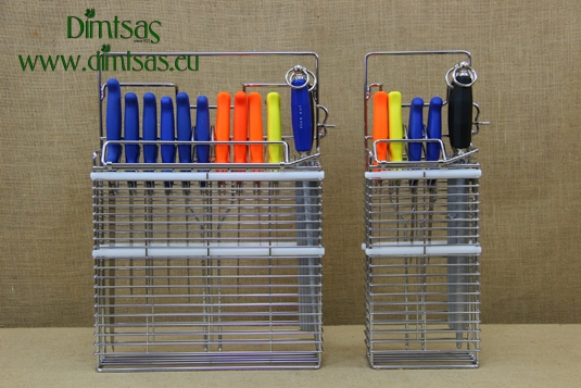 Knife Holders for Cleaning, Sterilization & Safekeeping