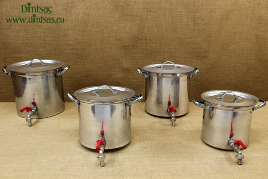 Aluminium Stockpots with Tap