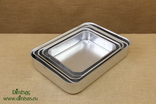 Aluminium Rectangular Roasting Pans Pressed