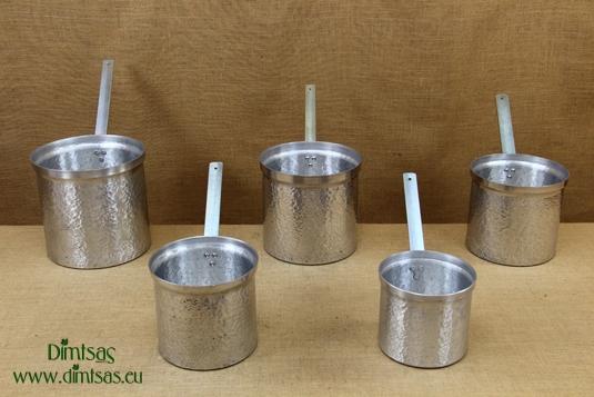 Aluminium Bain Marie Pots Professional Hammered