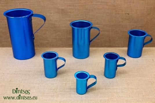 Aluminium Wine Jugs Blue