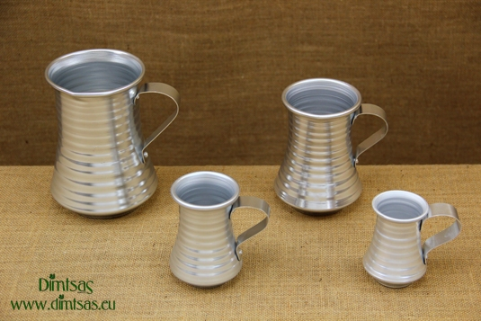 Aluminium Wine Pitcher Silver