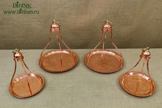 Copper Traditional Greek / Turkish Coffee Trays