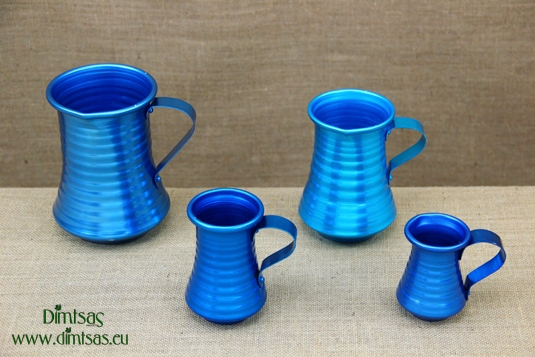Aluminium Wine Pitcher Blue