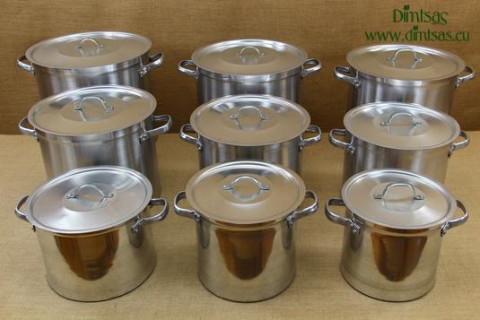 Aluminium Marmites Professional Collection 1