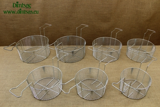 Frying Baskets Tinned for Professional Fryer Pots