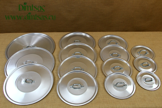 Aluminium Lids with Silver Handles